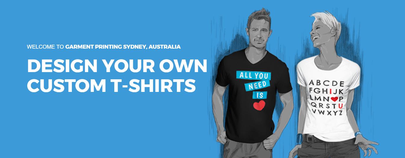Custom T Shirt Printing | GarmentPrinting.com.au