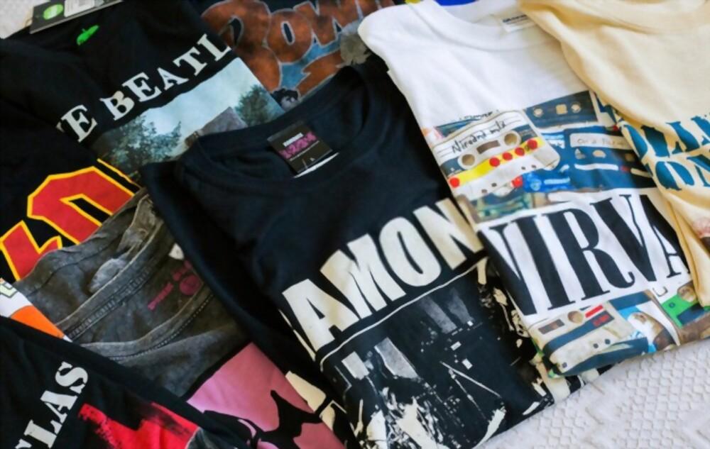 Music & Band T shirts