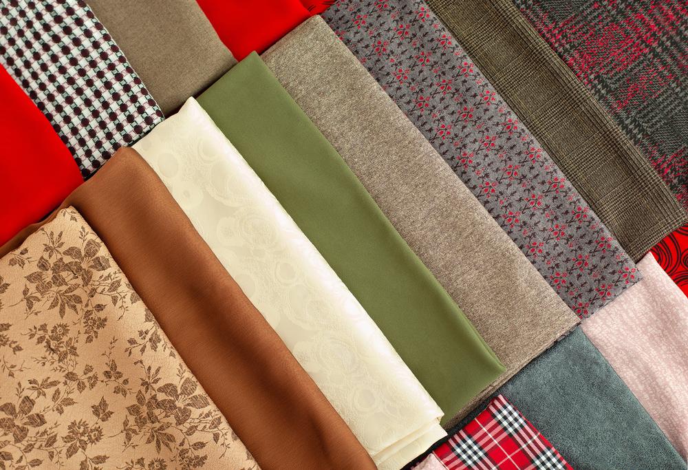 Different Folded Fabrics