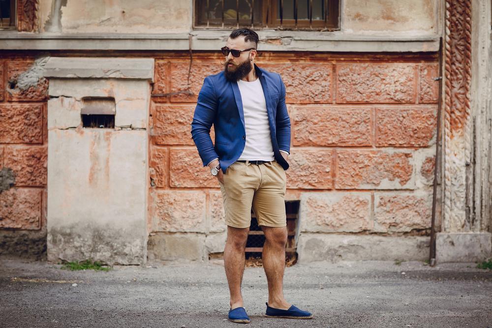 Fashionable Men Workwear Shorts