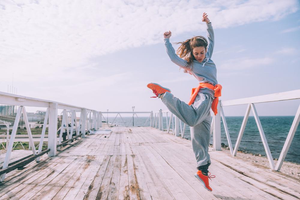 Hip Hop Dancer Fashion Dports Wear