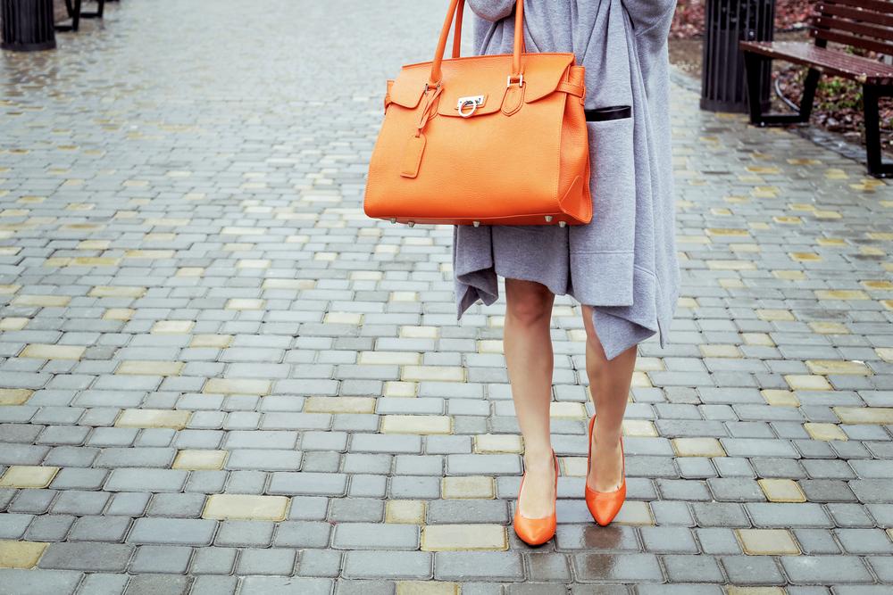 Orange Women's Workwear Bag