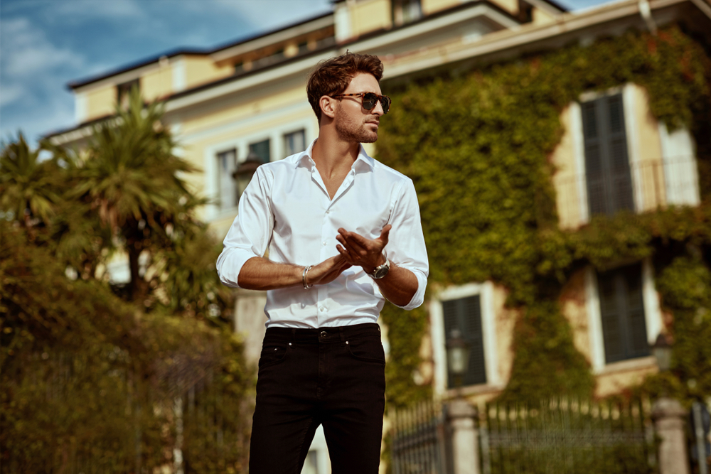 Summer Casual For Men With Sunglasses