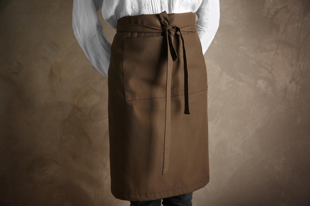 Women Chef Wearing Apron