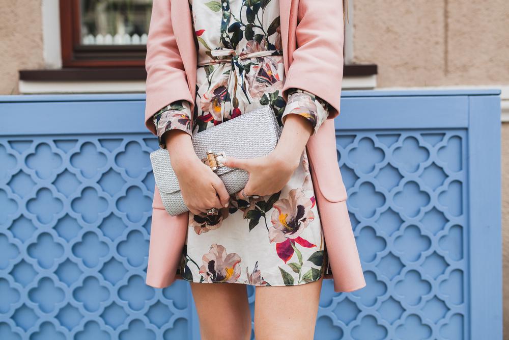 Summer Floral Pint Dress